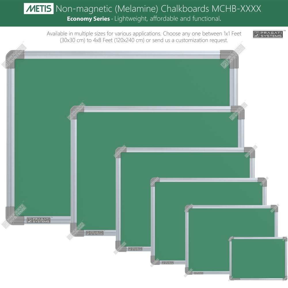 Metis Economy Non-magnetic (Melamine) Chalkboards