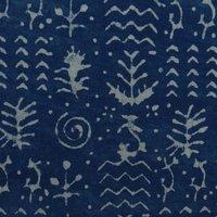 Indigo Blue Cambric Fabric