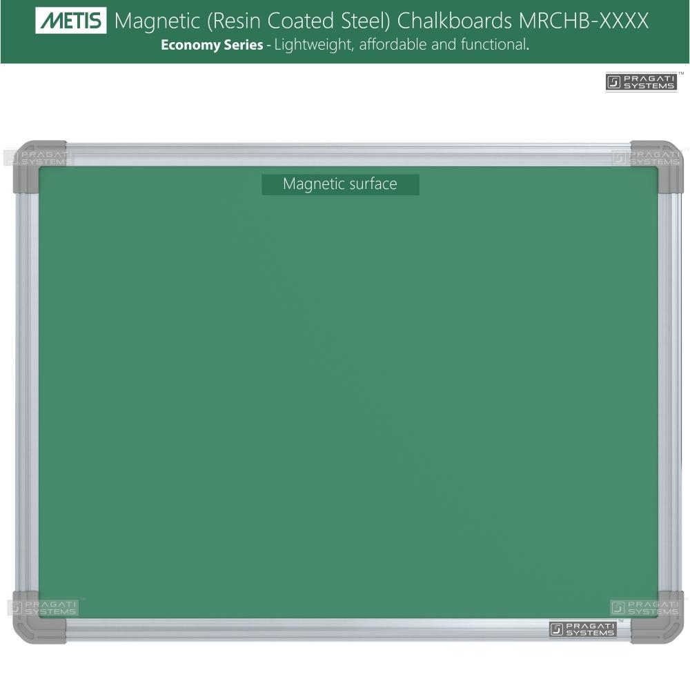 Metis Magnetic (Resin Coated Steel) Chalkboards