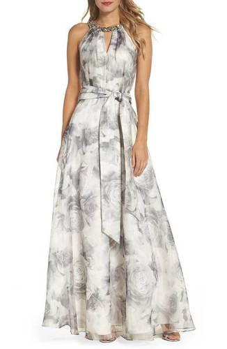 Ladies Digital Printed Gown