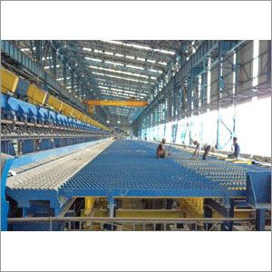 Automatic Rack Type Cooling Bed