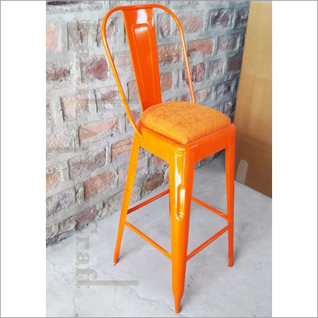 Bar Iron Orange Chair
