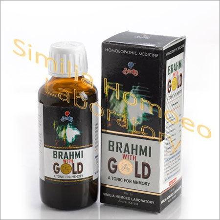 Brahmi with Gold
