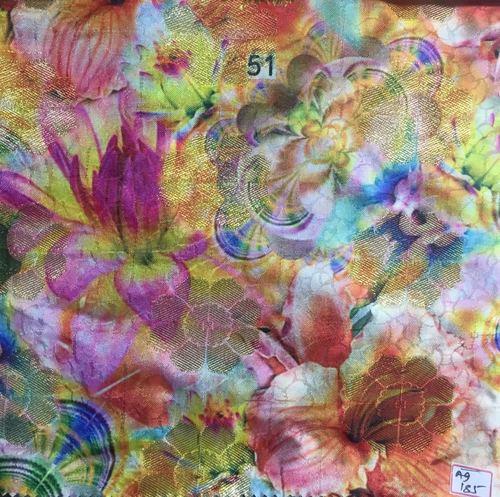 Nylon Silk Jequard Fabrics