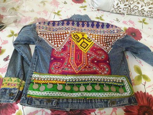 Designer Tribal Boho Bohemian Gypsy Denim Banjara