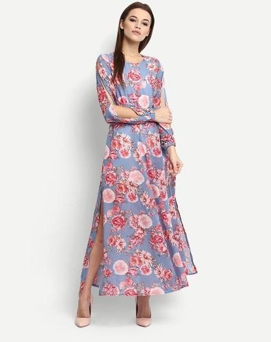 Ladies Flower Designer Gown