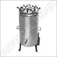 Verticle Double Drum Autoclave Wing Nut Type (SS)