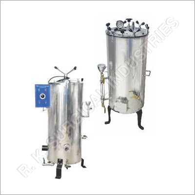 High Pressure Surgical Autoclave Vertical (Triple Walled)