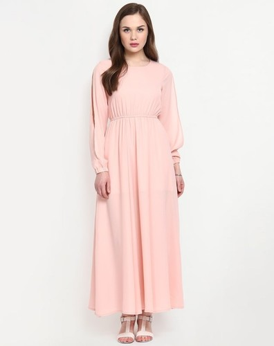 Ladies Plain Gown