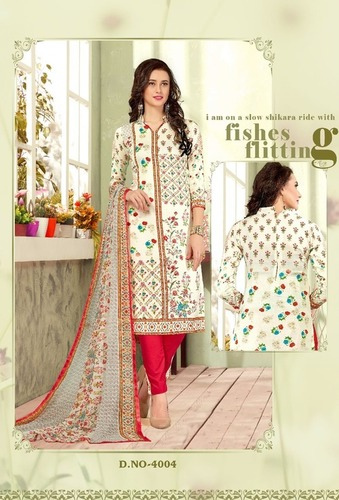 Fancy Rajiya Sultan Cotton Dress Material