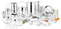 SILVER KITCHEN SET 101 PCS