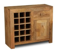 1 DRAWER 1 DOOR WINE RACK
