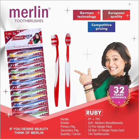Ruby Toothbrush