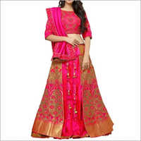 Designer Pink Lehenga Choli