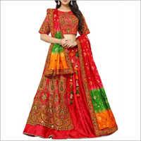 Designer 2 Layer Lehenga Choli