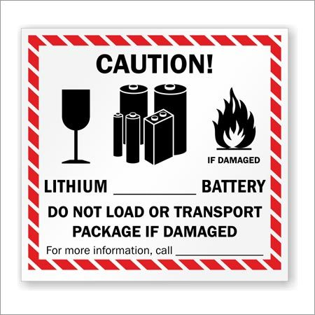 Battery Labels