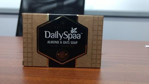 Natural Handmade Almonds & Oats Soap