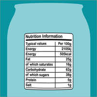 Nutrition Product Labels