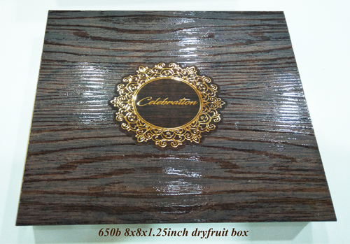 Wooden Dry Fruit Gift Boxes