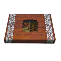 DF 550 AW_Wooden Dry Fruit Gift Box