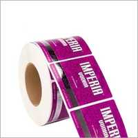 Roll Form Label -Silver Foil