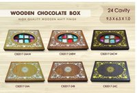 Wooden Wedding Card Box