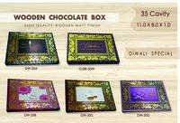 Designer Wooden Wedding Card Box