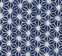 Handmade Cotton Dimond Print Indigo Fabrics