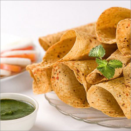 Chana Garlic Papad