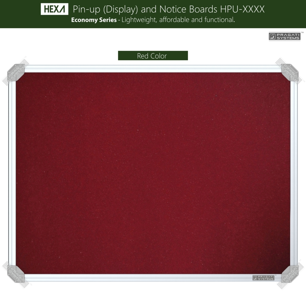 Hexa Pin-up Boards (Display & Notice Boards)