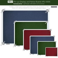 Hexa Pin-up Boards (Display & Notice Boards)