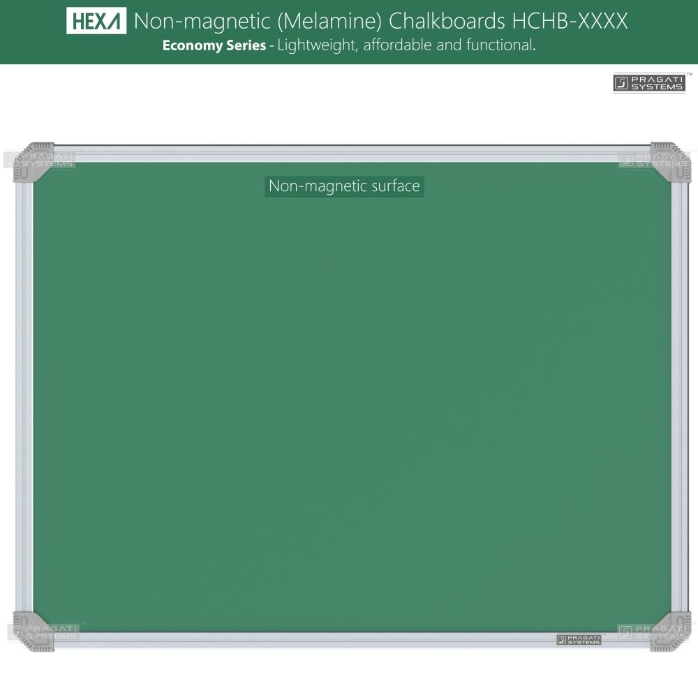 Hexa Economy Non-magnetic (Melamine) Chalkboards