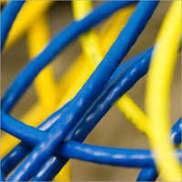 Blue and Yellow Wire
