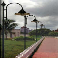 Decorative Garden Light Pole