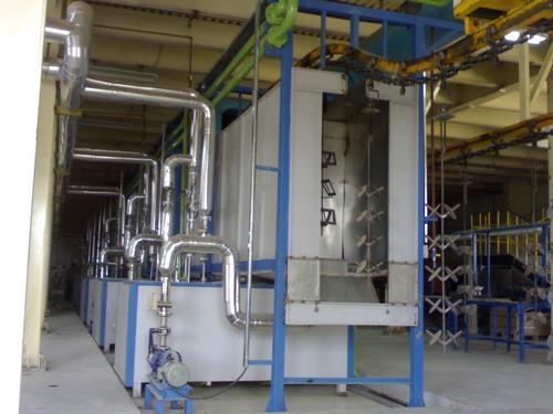 Spray Pre-treatment Washing line