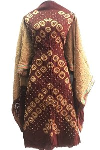 Ethnic Bandhani Dress Material Wholesaler