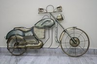 Wallhanging Iron Bike