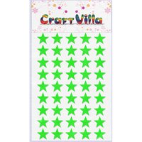 Craft Villa Small Card Star Glitter Sticker