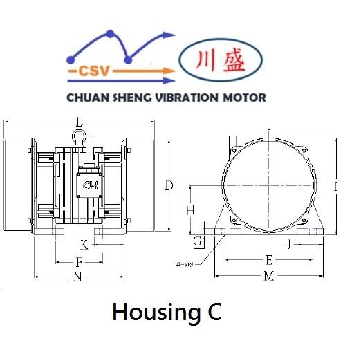 6 Pole Vibration Motor