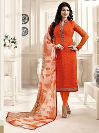 Georgette Churidar Suit