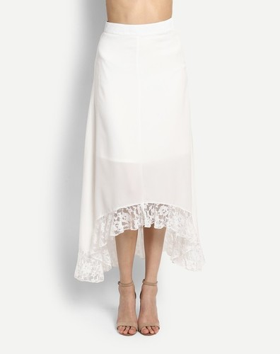 Ladies White Skirts