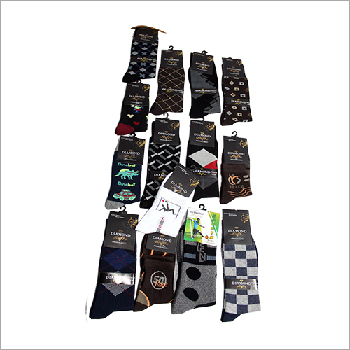 Mens Printed Socks