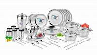 DINNER SET PLATINUM 22G 57 PCS