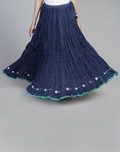 Dart Blue Skirts