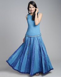 Ladies Lengha Style Skirts