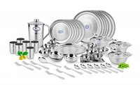 DINNER SET DIAMOND (RAJBHOG PLATE) 62 PCS