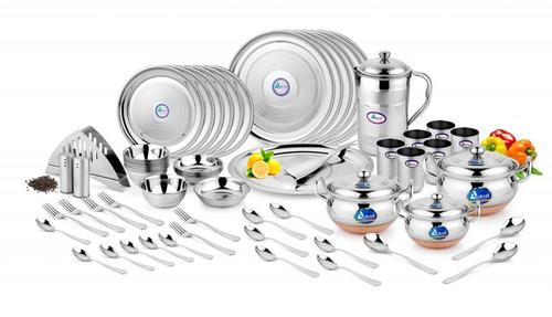 DINNER SET PEARL D/TOUCH (WITH CB HANDI SET) 65 PCS
