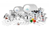 DINNER SET CRYSTAL PLAIN 72 PCS