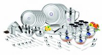 DINNER SET SHAGUN CB HANDI (SUITCASE PACKING) 52 PCS