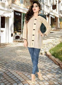 Ladies Beige Tops
